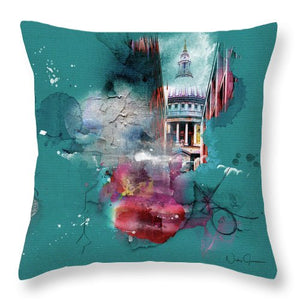 Chvrch-2 - Throw Pillow