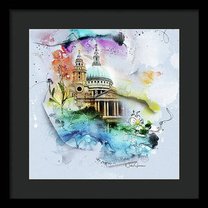 st paul's - art by Nicky Jameson