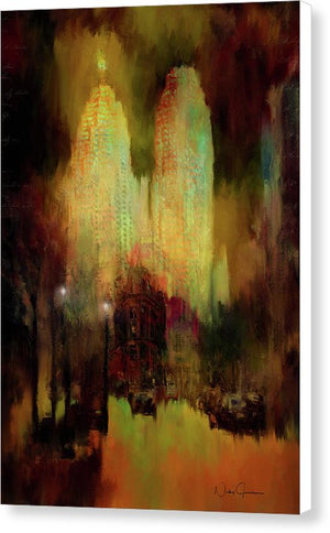 City Lights - Canvas Print