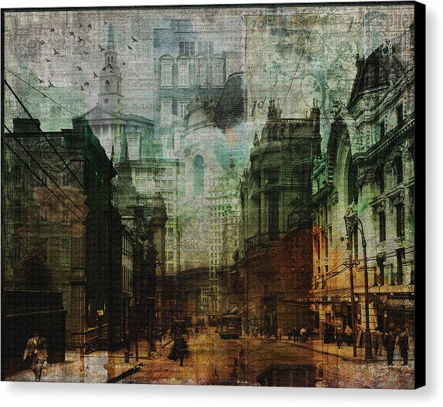 City Rising - Canvas Print