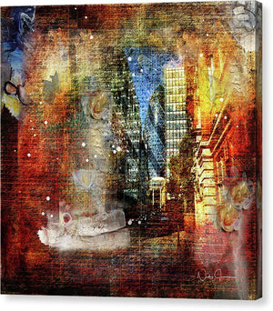 Messy Business, City Street - Canvas Print