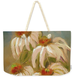 Cone Flower Dance - Weekender Tote Bag