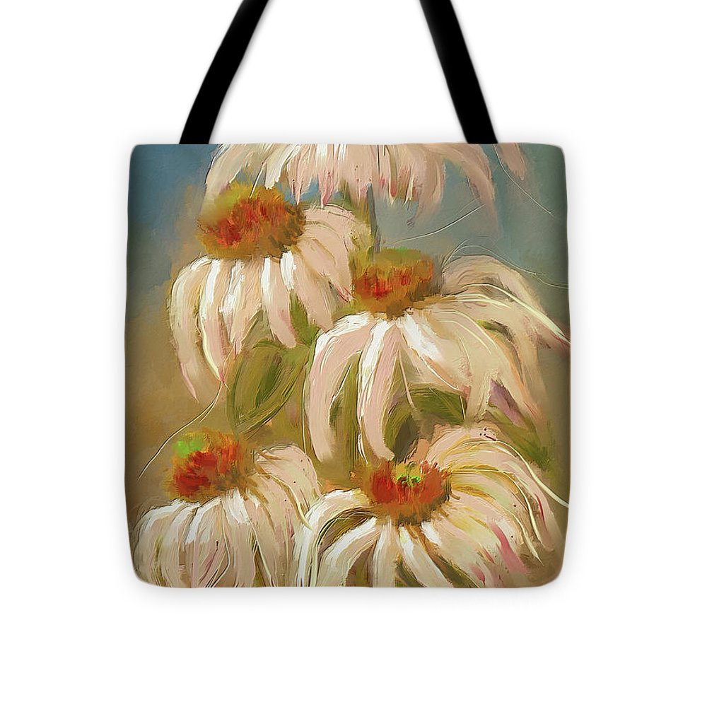 Cone Flower Dance - Tote Bag