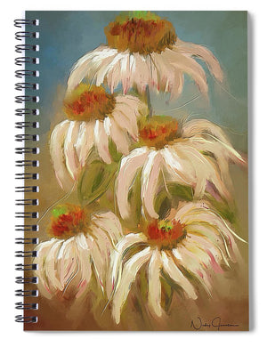 Cone Flower Dance - Spiral Notebook