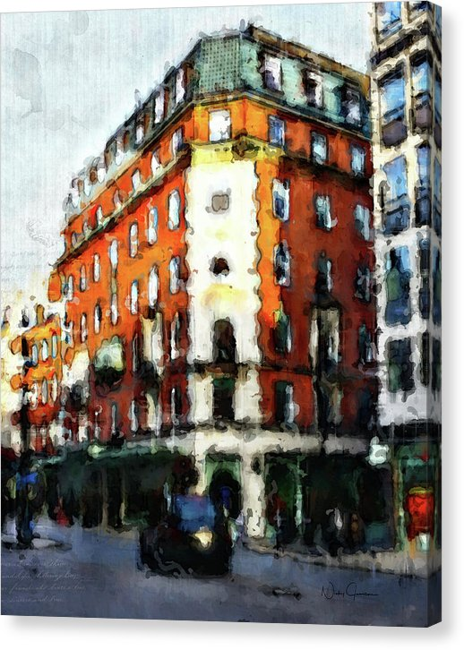 londonart, fortnum and mason artwork, london, nickyjameson