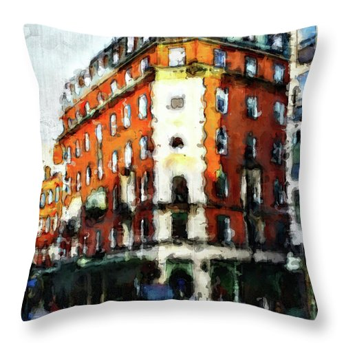 Corner Grocer - Throw Pillow