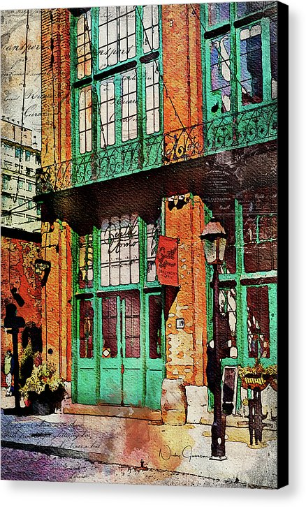 Distillery Days - Canvas Print