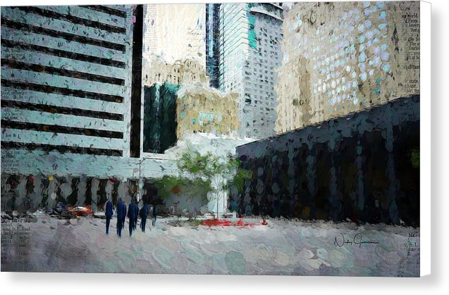 downtown - torontoart by Nicky Jameson