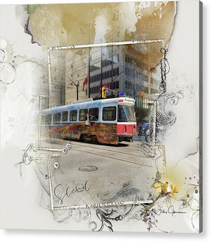Downtown On King Street - Acrylic Print