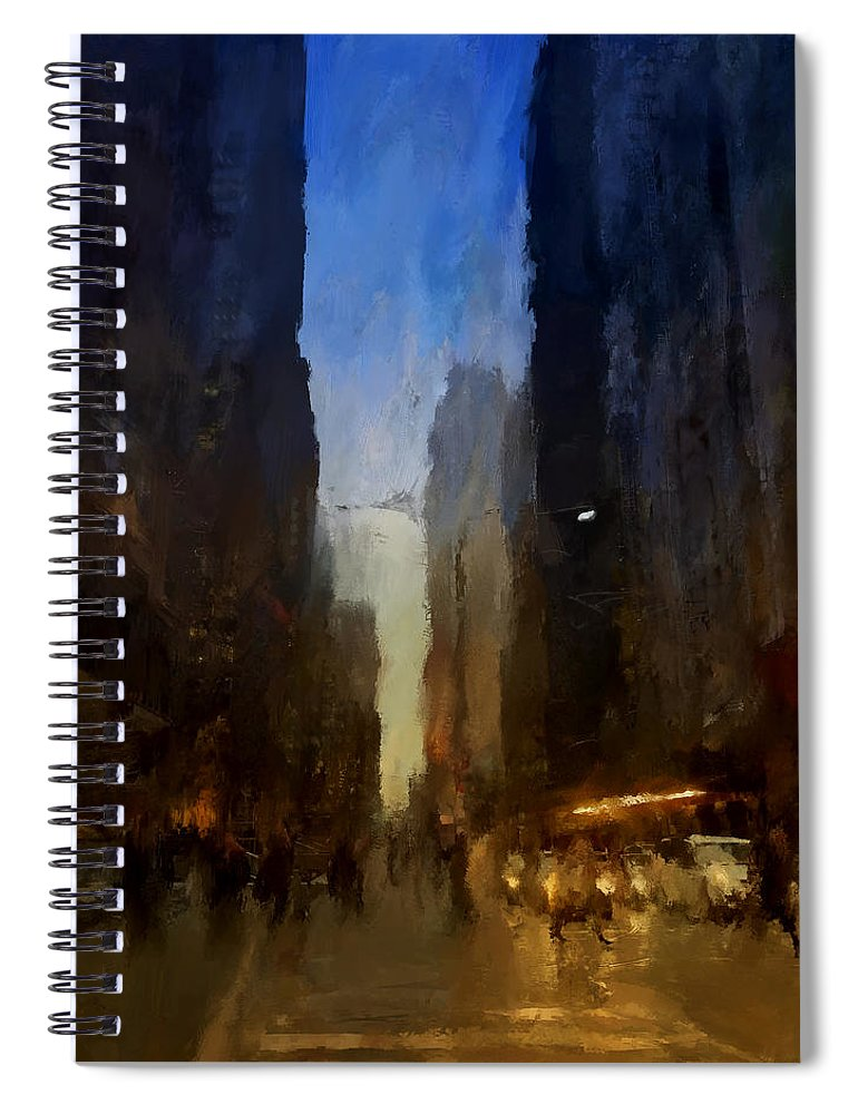 Downtown Toronto York St - Spiral Notebook