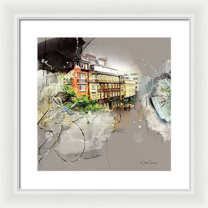 Evening Light - Framed Print