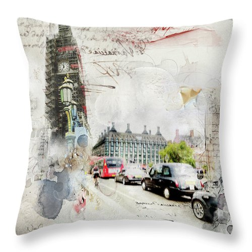 Facelift Time - Throw Pillow