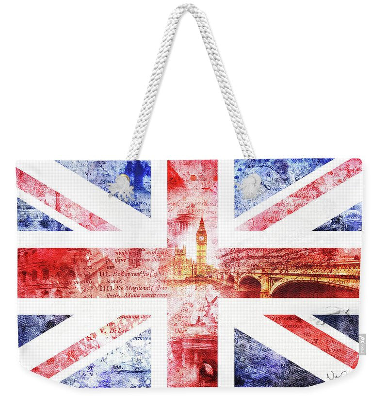 Fearless - UK Art Weekender Bag  by Nicky Jameson