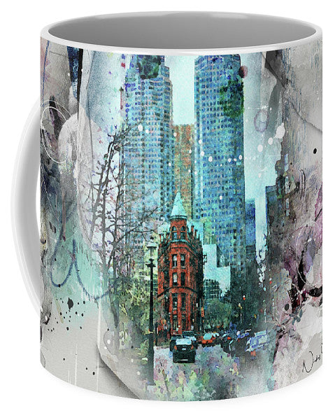 Flatiron Church And Wellington - Mug