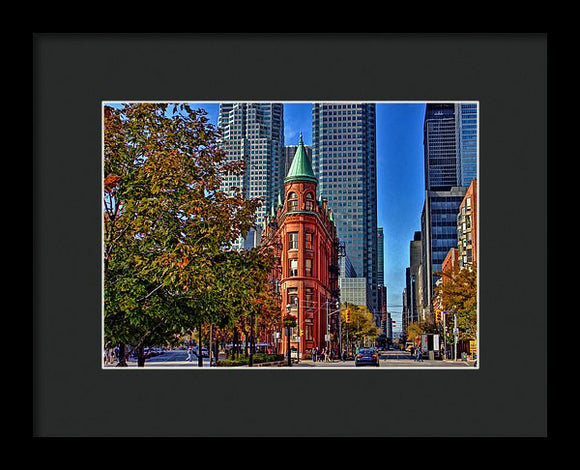 toronto flatiron building art by nicky jameson
