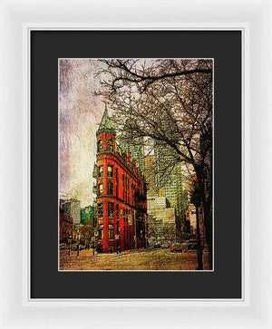 Flatiron Reloaded - Framed Print