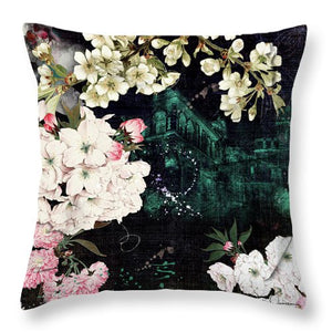 Florals Of Life - Throw Pillow