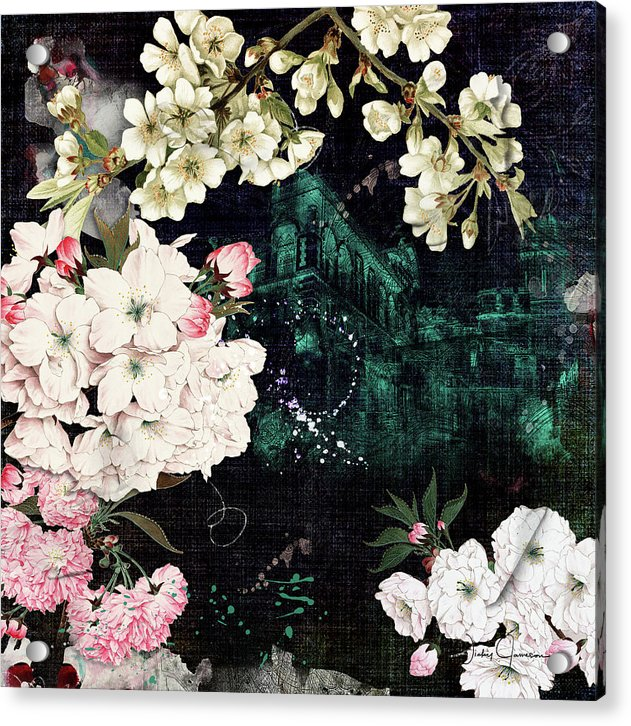 Florals Of Life - Acrylic Print