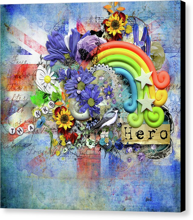 Flowers of Hope - Canvas Print