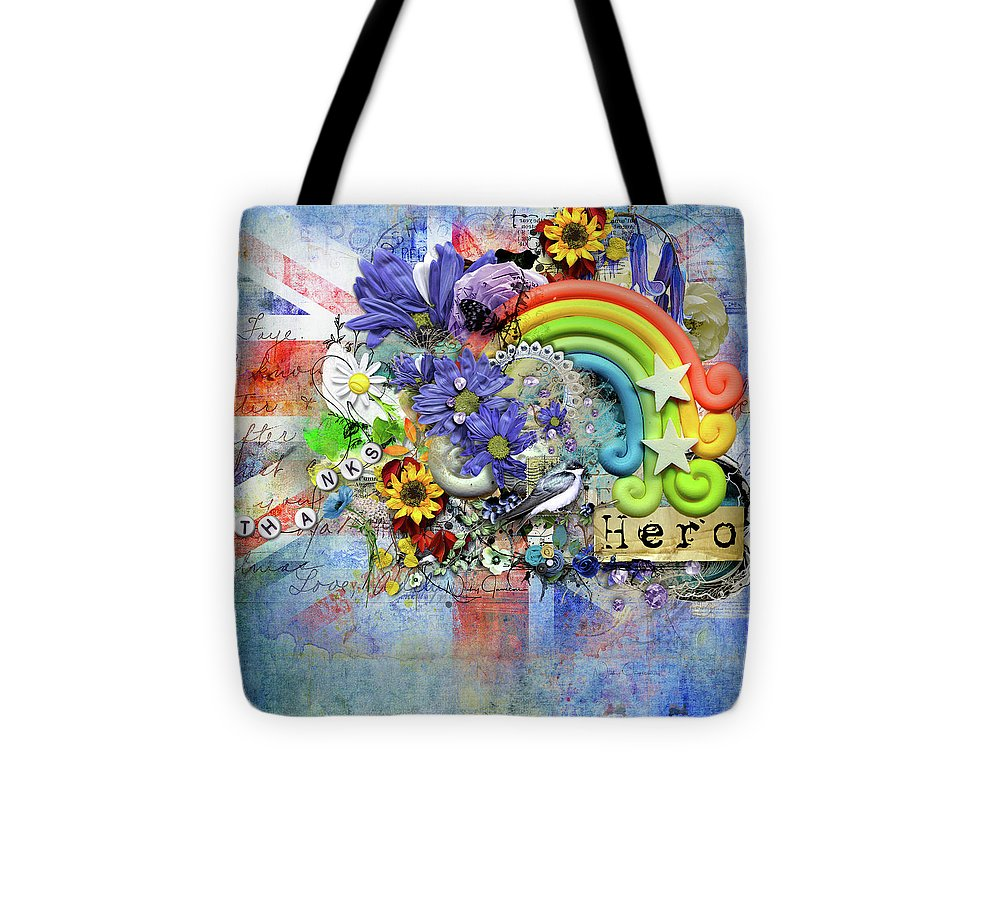 Flowers of Hope - Tote Bag