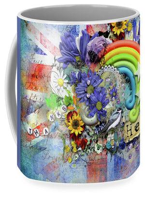 Flowers of Hope - Mug