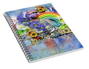 Flowers of Hope - Heros  Spiral Notebook