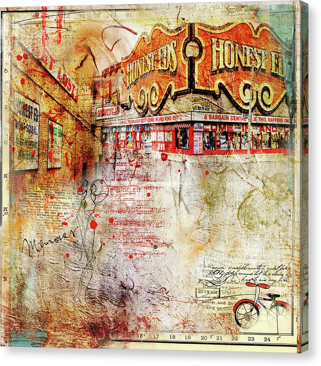 Goodbye Honest Eds II - Canvas Print