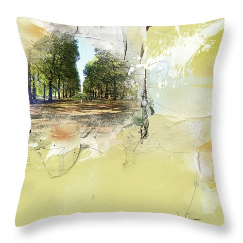 green park london, thow pillow