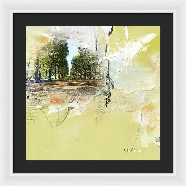 Green Park - Framed Print