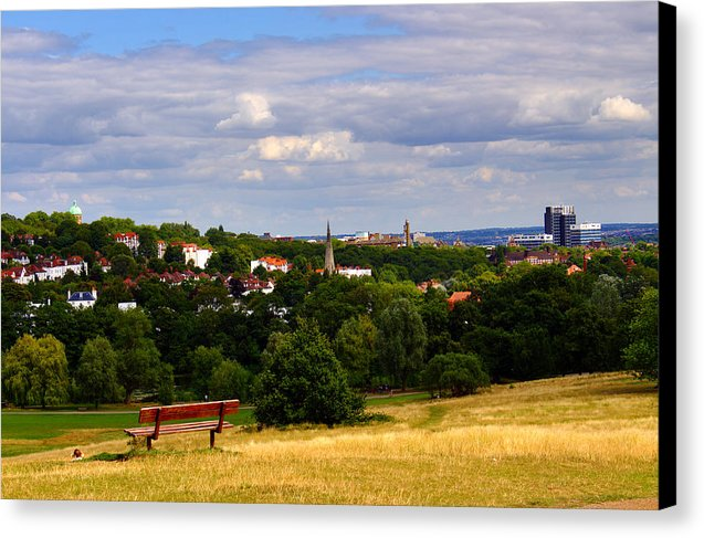 Hampstead Heath Parliament Hill - Canvas Print