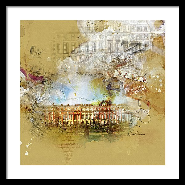Hampton Court Palace - Framed Print