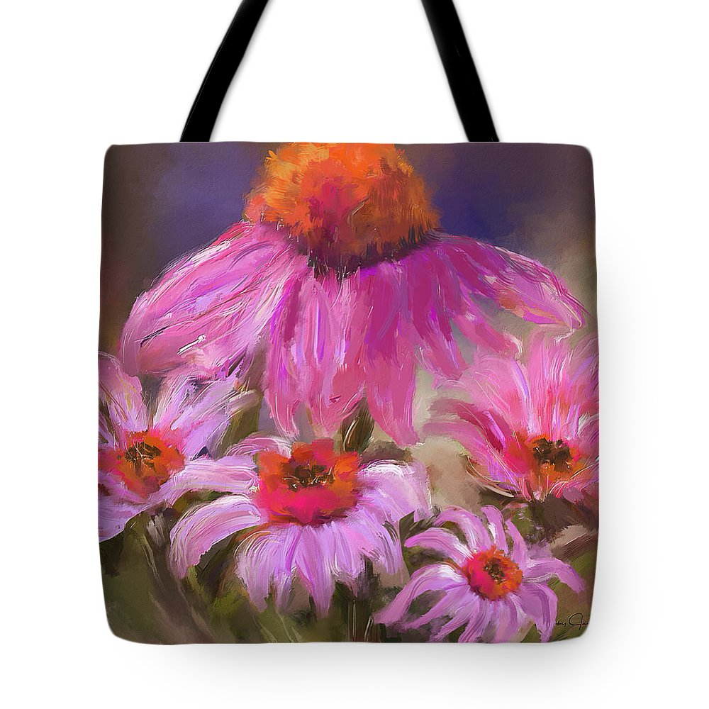Happy Flowers - Tote Bag