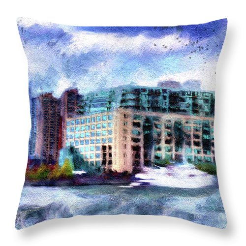 Harbourside - Throw Pillow