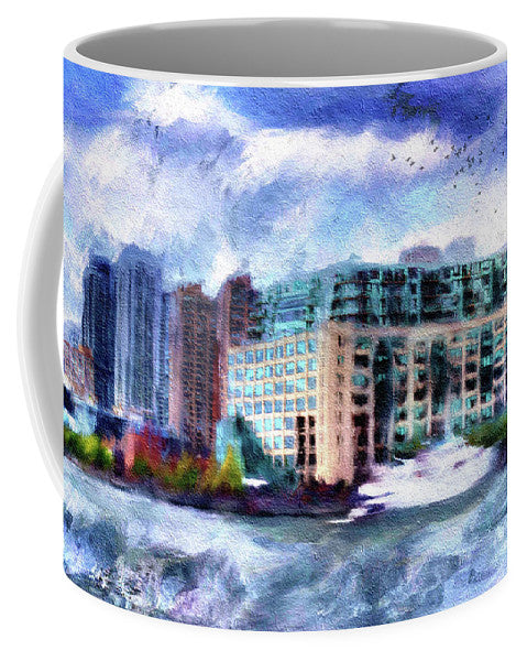 Harbourside - View from a Boat -  Mug