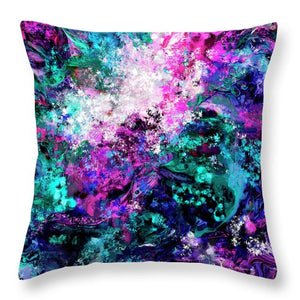 Abstract #5 - Mystery -  Throw Pillow