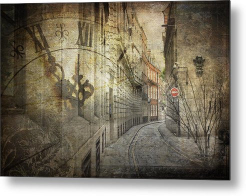 Ironmonger Lane - Metal Print