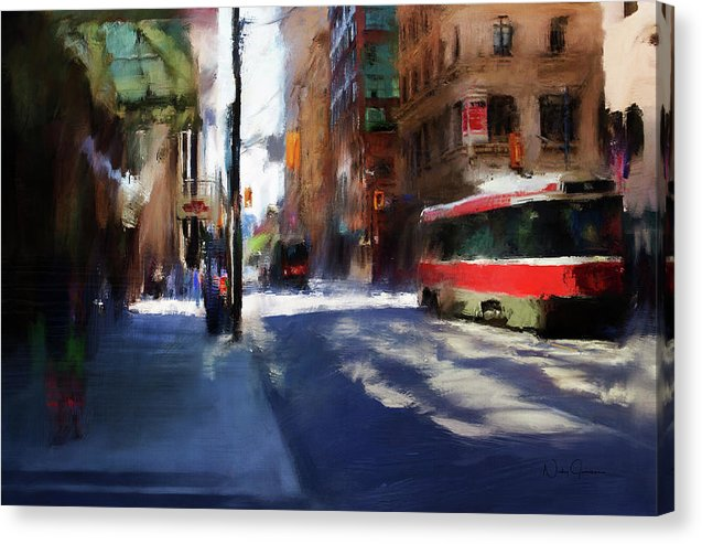 King St East - Canvas Print