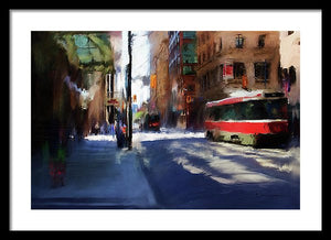 King St East - Framed Print