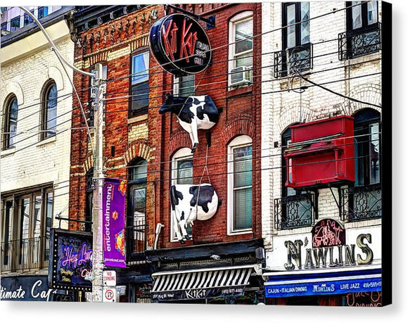 King St West Canvas Print