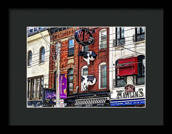 King Street West - Framed Print