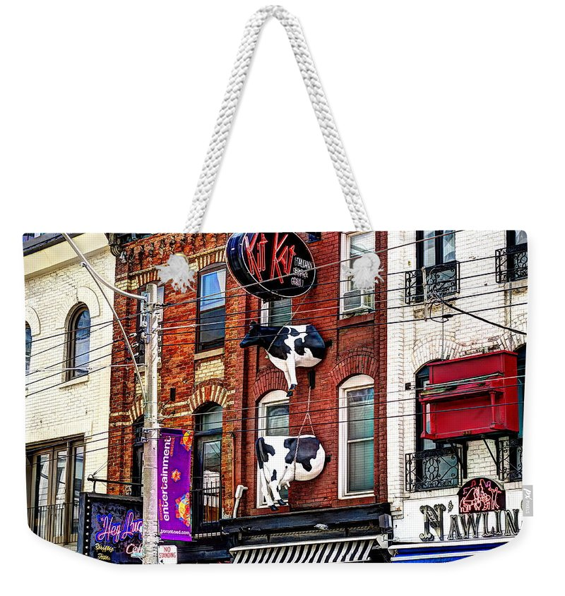 King Street West - Weekender Tote Bag