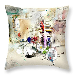 Letters From The Edge - Throw Pillow