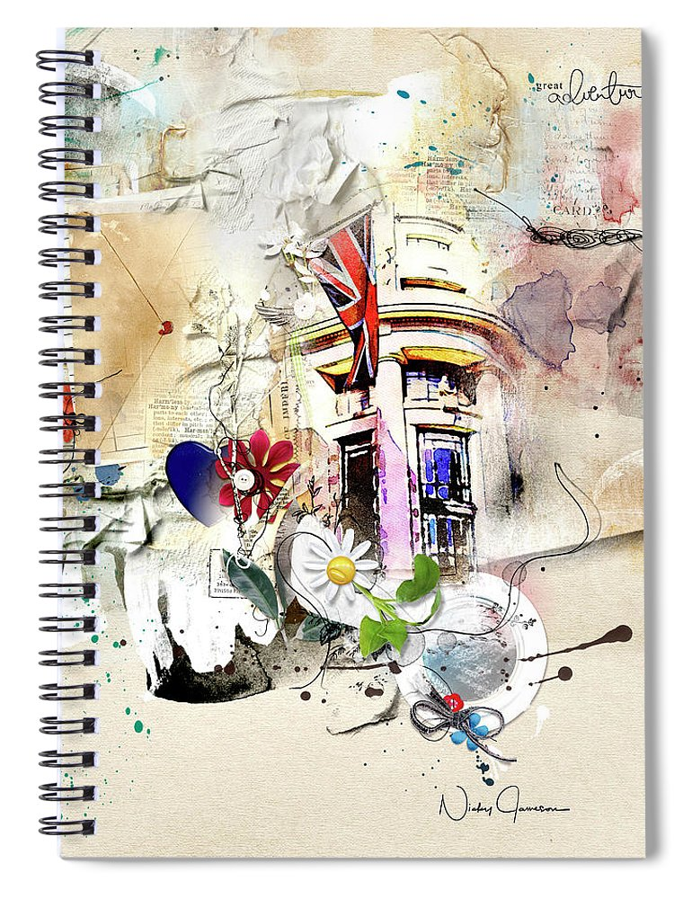 Letters From The Edge - Spiral Notebook