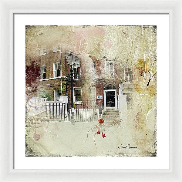 Lincoln's Inn Fields I - Framed Print