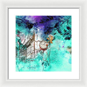 Lincoln's Inn Streetscape - Framed Print