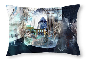 Lombard Street - Gherkin - Throw Pillow
