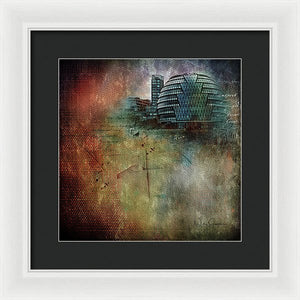 London - City Hall - Framed Print