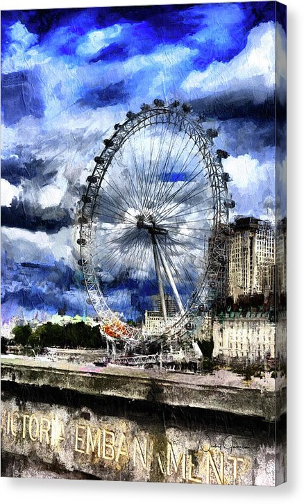 London Eye - Canvas Print