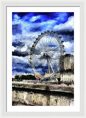 London Eye - Framed Print