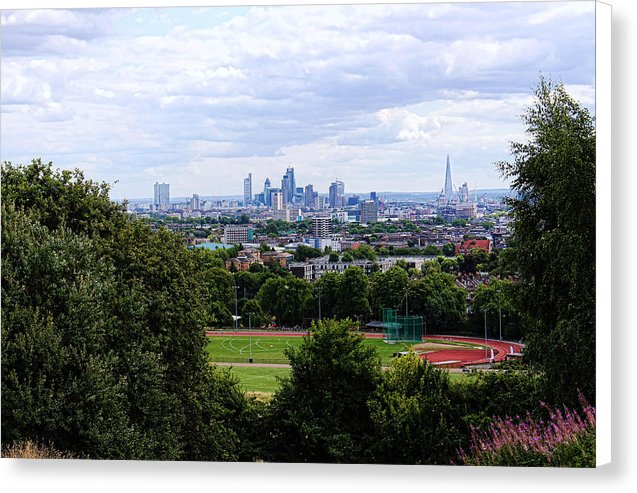 London From Parliament Hill - Canvas Print